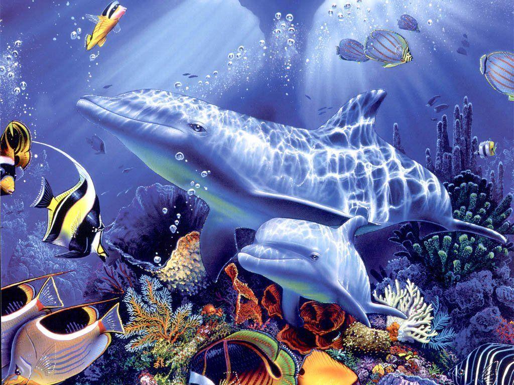Fond d'écran de poissons...POur ceux qui veulent un écran marin!!!