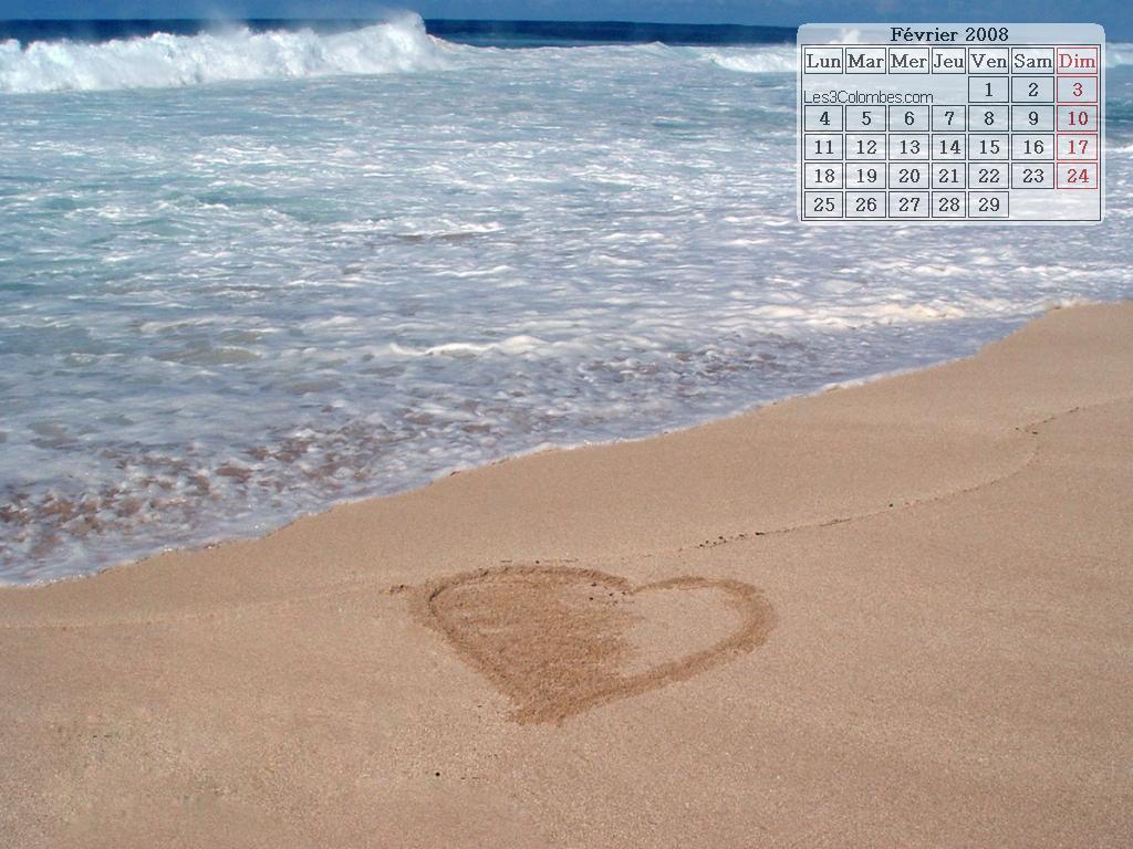 Fond d 39 cran pour la st valentin for Ecran pour la photo