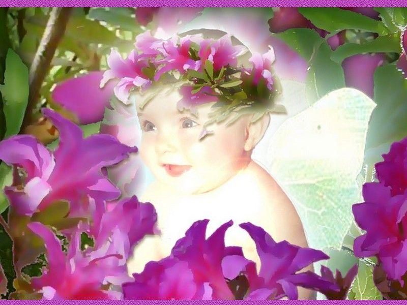 Fond d ecran de bebe for Fond ecran bebe